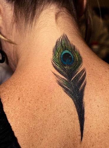 杭州星光纹身店作品:后背个性纹身