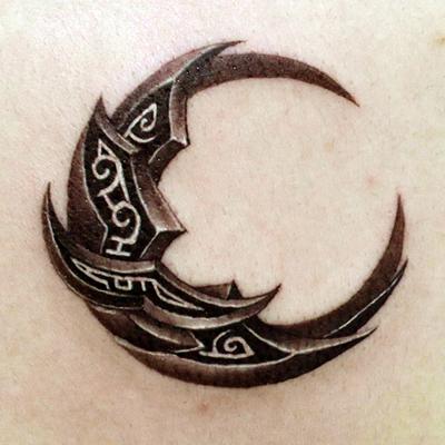 天津小健纹身店纹身作品:图腾纹身图案