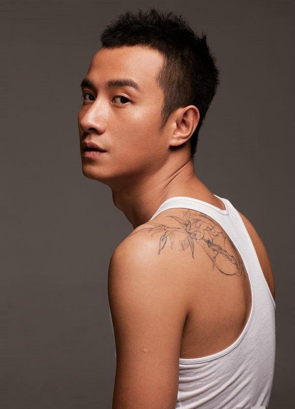 明星陆毅金龙盘玉兔刺青|纹身图案大全|女人纹身图案